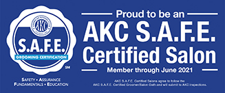 AKC SAFE Certified Salon