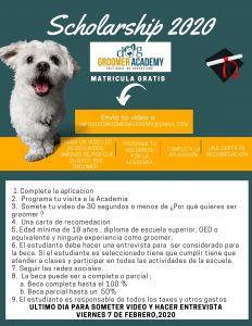 Dog Groomer Scholarship 2020